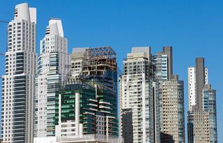 Wolkenkratzer in Buenos Aires