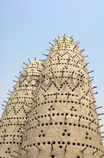 Taubentürme, Katara Cultural Village, Doha, Katar