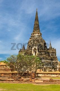 Stupas of Wat Si Sanphet, Ayutthaya, Thailand