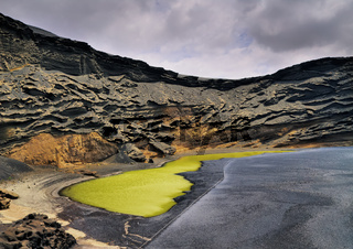 Green Lagoon on Lanzarote