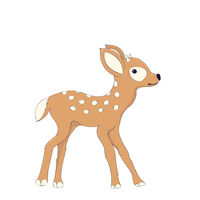 Cute fawn character