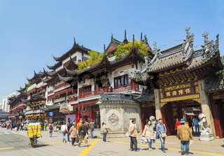 old town of shanghai china