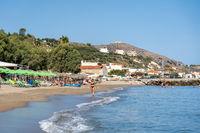 Kalives Beach on Crete, Greece