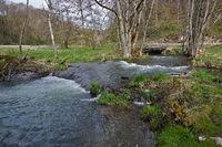 Lautertal, Biosphärengebiet Schwäbische Alb, Deutschland