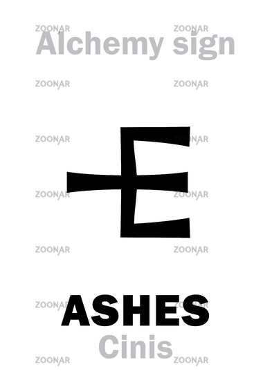 Alchemy: ASHES (Cinis, cineres)