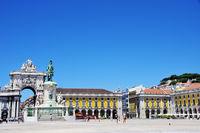Terreiro do paço square at Lisbon