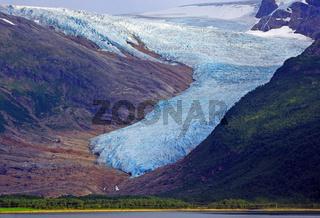 Der Svartisen Gletscher