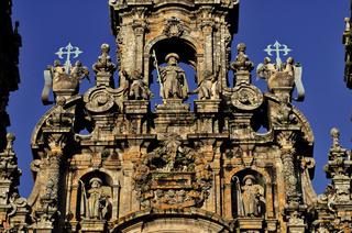 Spanien: Kathedrale von Santiago de Compostela