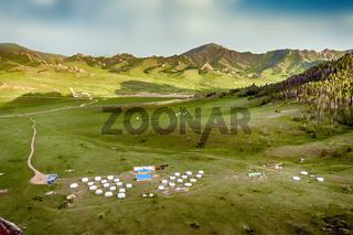 Mongolian Yourt Camp