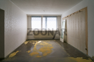 Raum bei Renovierung und Teppichboden erneuern