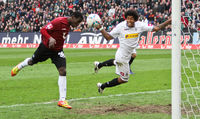Didier Ya Konan Kopfball Tor für Hannover 96