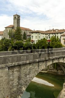 Teufelsbrücke in Cividale Italien