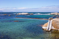Miller's Point Tidal Pool off the False Bay coast of Cape Town