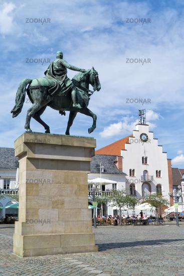 Reiterdenkmal Prinzregent  Luipold von Bayern