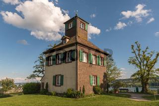 Hochwart auf der Insel Reichenau, Bodensee, Baden-Württemberg, Deutschland