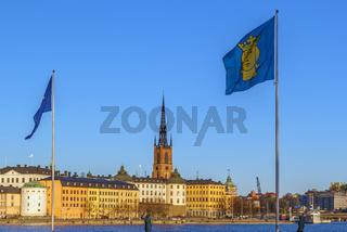 View of Riddarholmen, Stockholm, Sweden