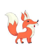 Cute fox character