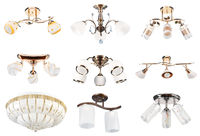 Lamps collection. Perspective view #3 | Isolated