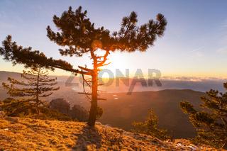 Crimean mountains