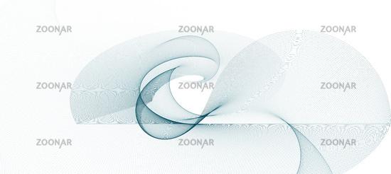 abstrakt linien wellen weiß bewegung banner
