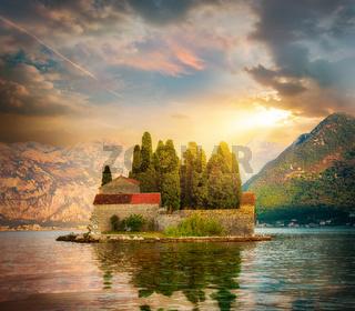 Island of Dead in Perast