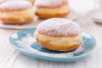 Traditional German Krapfen