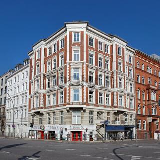 Gründerzeitgebäude in Hamburg