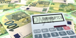 Calculation Bankruptcy