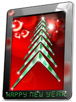Tablet Happy New Year