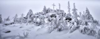 Strenger  Frost am Hochstein