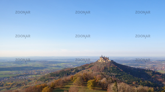 Castle Hohenzollern Germany at autumn