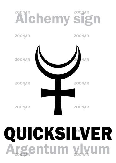 Alchemy: QUICKSILVER (Argentum vivum) / Mercury