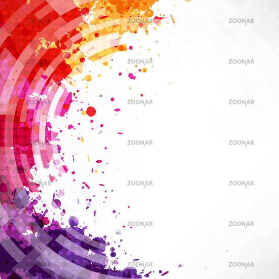 Dinamic Watercolor Blot Background