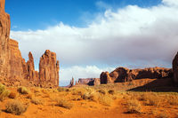 The Navajo Indian Reservation