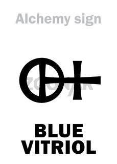 Alchemy: BLUE VITRIOL (Vitriol of Cyprus, Roman Copperas)