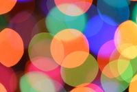 Defocused color background