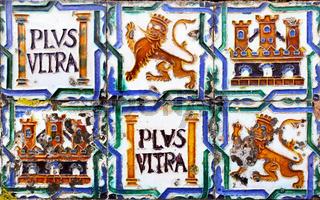 Ancient ceramic tiles