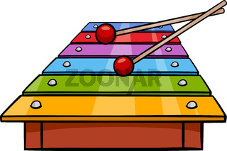 xylophone clip art cartoon illustration