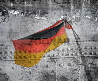 unter deutscher Flagge