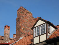 Zwerchhaus Halbturm Lübeck