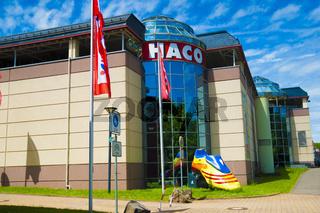 Einkaufzentrum Haco in Wadern