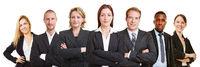 Gruppe von Geschäftsleuten als Business Team