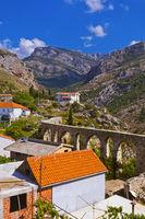 Aqueduct in Bar Old Town - Montenegro