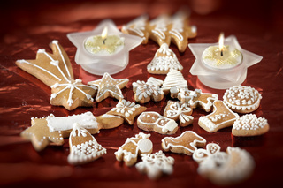 sweet christmas gingerbreads