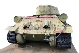 Russischer Panzer aus dem Zweiten Weltkrieg