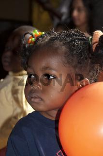 Vorschulkind aus Ghana