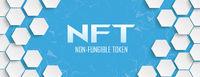 White Hexagon Structure Network NFT Header