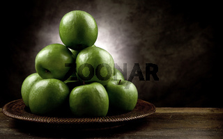 Green Apple antique style