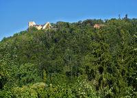 Schloss Weitenburg im Neckartal; Landkreis Tübingen; Baden Württemberg; Deutschland