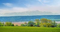Blick über den Bodensee bei Allensbach